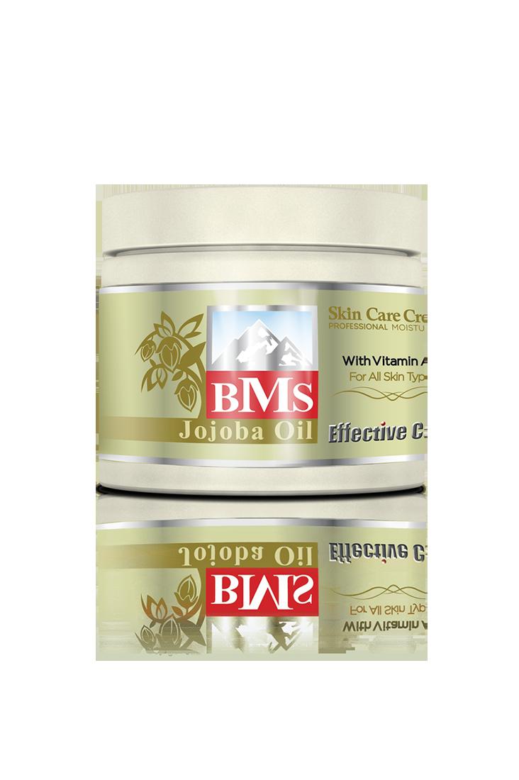 کرم مرطوب کننده روغن جوجوبا BMS
