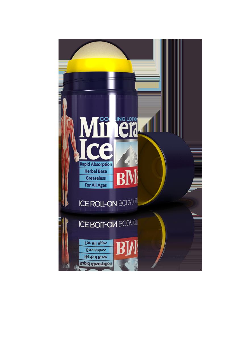 رول - آن ضد درد و آرام بخش عضلات  Mineral Ice BMS