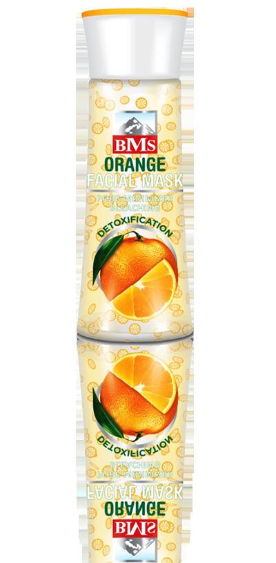 ماسک صورت ویتامینه-پرتقال بی.ام.اس BMS
