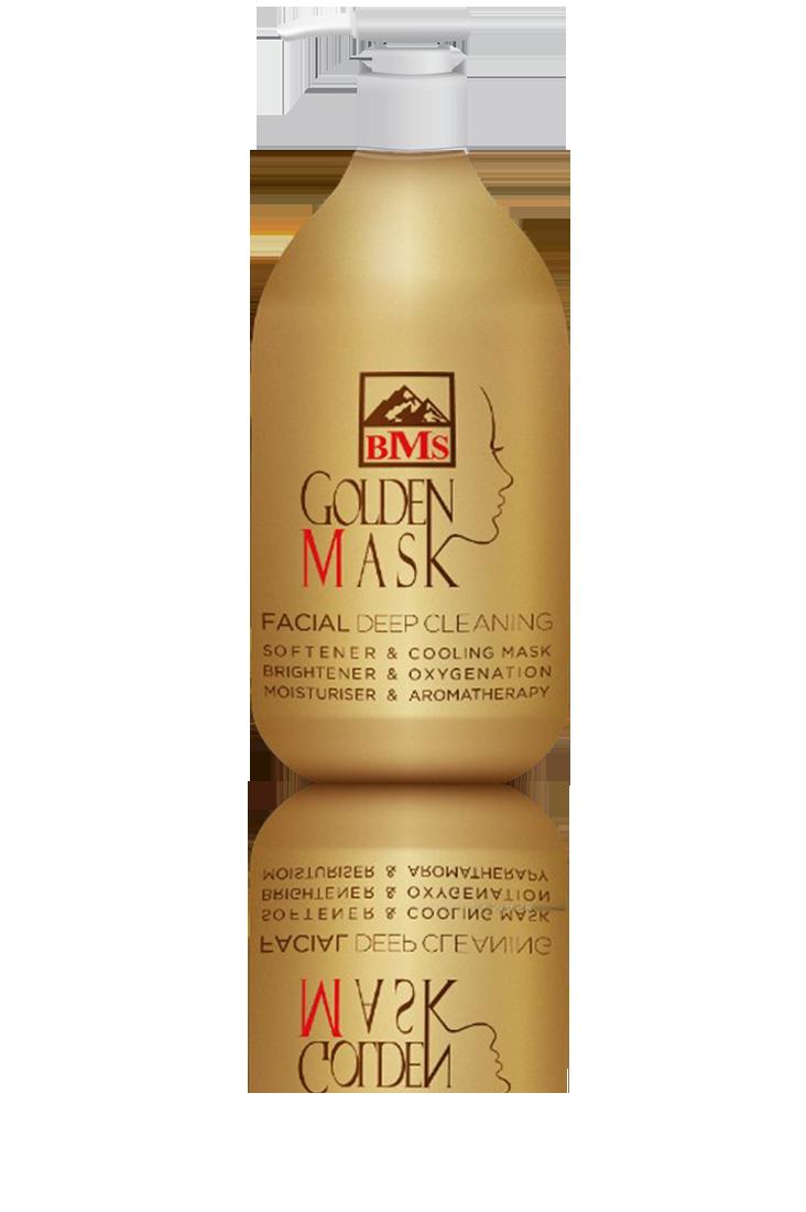 ماسک لایهبردار عمیق پوست صورت گلدنماسک BMS