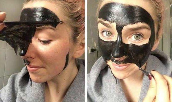 ماسک سیاه صورت